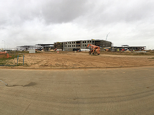 Myrex Industries furnished over 3200 tons of fabricated steel for the new Katy High School number 9 in Katy, TX