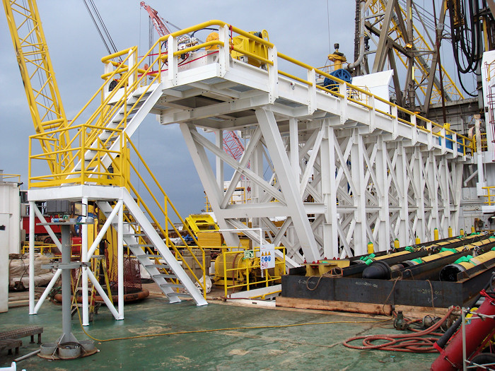 Steel fabrication for the oil and gas industry